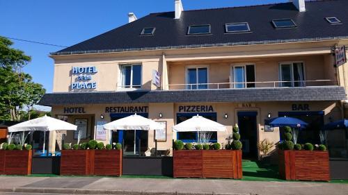 Hotel de la Plage : Hotel near Foucarville