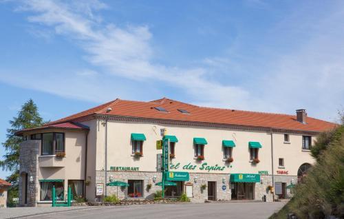 hotel des Sapins : Hotel near Saint-Étienne-de-Lugdarès