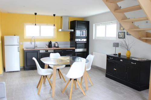 Mel'Anne Cottage : Guest accommodation near Saint-Aubin-de-Terregatte