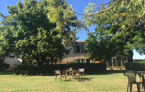 B&B Mas Les Lecques : Bed and Breakfast near Beaucaire