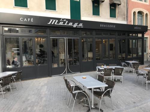 Hotel Le Malaga : Hotel near Carpentras