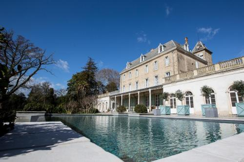 Chateau de Blomac : Guest accommodation near Moux