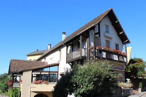 Hostellerie La Terrasse : Hotel near Rudelle