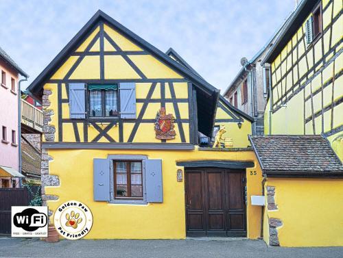 Gîtes de la Maison Vigneronne, au Coeur de Ribeauvillé : Guest accommodation near Ribeauvillé