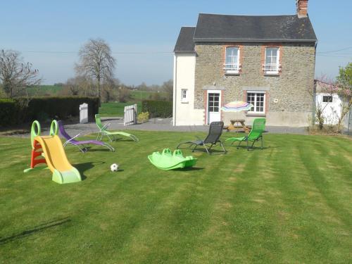 Gite de la Nouillère : Guest accommodation near Saint-Aubin-de-Terregatte