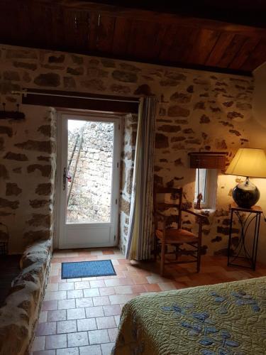 La Terrasse de Peyre : Bed and Breakfast near Saint-Georges-de-Luzençon