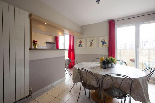 Val d'Europe Disney Family Apartment Number 2 : Apartment near Thorigny-sur-Marne
