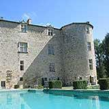 Château de Fourcès : Bed and Breakfast near Baudignan