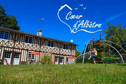 Cœur d'Albâtre : Guest accommodation near Drosay