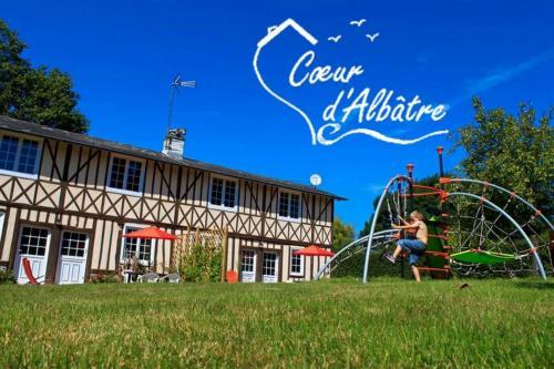 Cœur d'Albâtre : Guest accommodation near Drosay