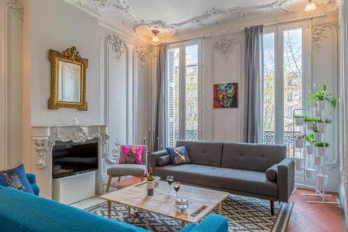 Grand appartement Standing Place Felix Baret 105m2 : Apartment near Marseille 6e Arrondissement