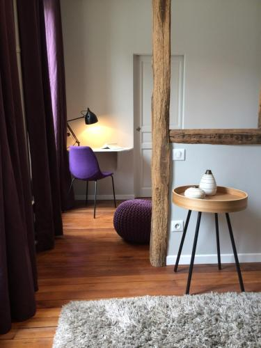 Wisteria : Bed and Breakfast near Vulaines-sur-Seine
