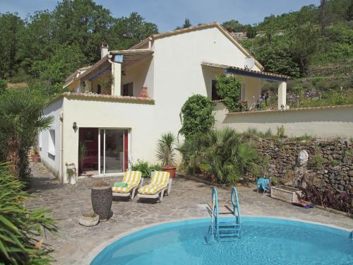 Villa Cèze : Guest accommodation near Saint-Florent-sur-Auzonnet