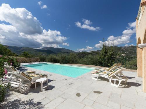 Villa - La Roquette-Sur-Var : Guest accommodation near Revest-les-Roches