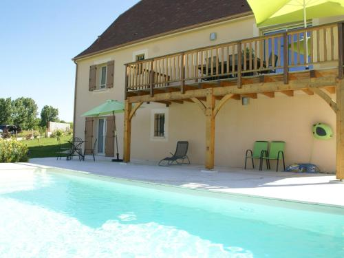 Maison De Vacances - Saint-Cyprien 1 : Guest accommodation near Marnac