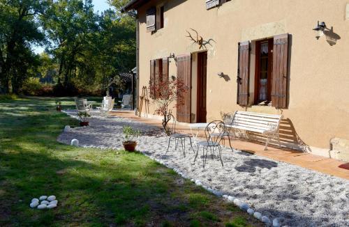 L'Atelier du Grison : Bed and Breakfast near Lerm-et-Musset