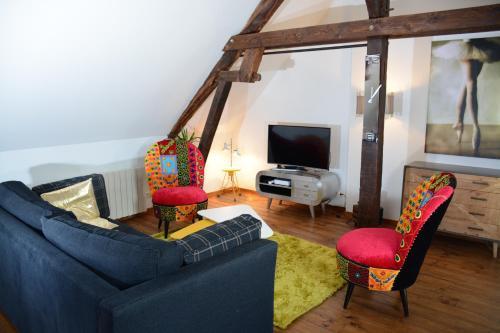 Loft en bulles : Apartment near Belval-sous-Châtillon