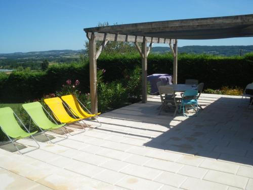 Simonelli : Guest accommodation near Saint-Aubin