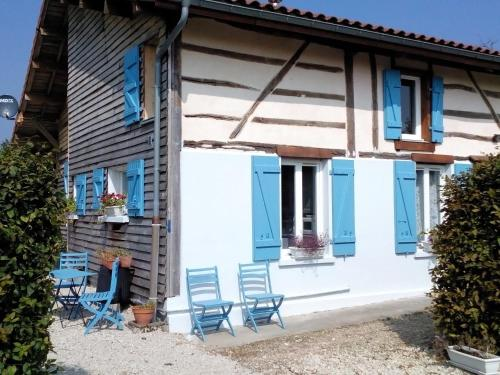 Holiday home Les Volets Bleus 2 : Guest accommodation near Courcelles-sur-Blaise