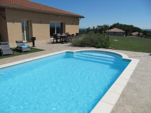 Holiday home Villa Panorama : Guest accommodation near Saint-Pé-Delbosc