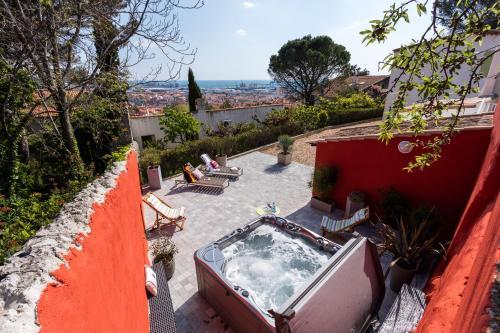 villa la grimpette : Guest accommodation near Sète