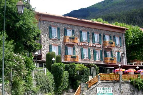 La Bonne Auberge : Hotel near Roquebillière