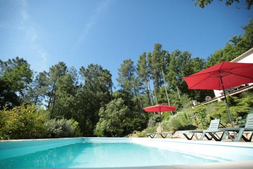 Les Sens des Bois : Bed and Breakfast near Vagnas