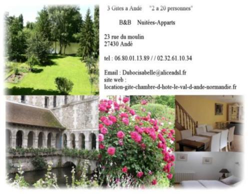 Le Val d'Andé : Apartment near Les Andelys