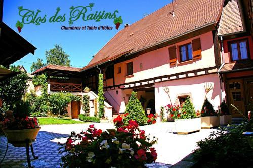 B&B Le Clos des Raisins : Bed and Breakfast near Beblenheim