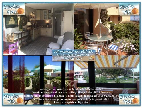 STUDIOS MER VACANCE APHRODITE, VILLAGE NATURISTE APHRODITE : Apartment near Leucate