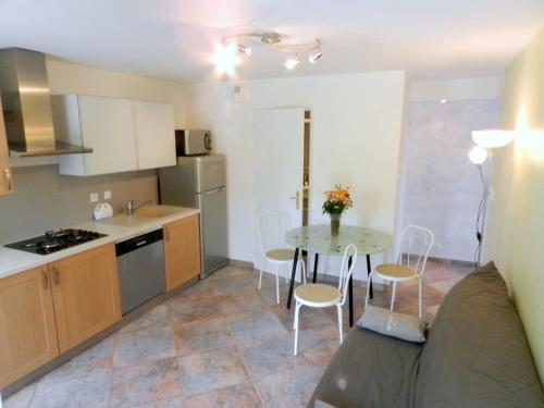 Gîte les Platanes : Apartment near Barraux