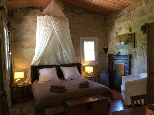 La Maison De Papassus : Bed and Breakfast near Lamothe-Montravel