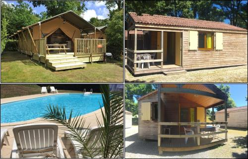 Puy Rond Camping : Guest accommodation near Pougne-Hérisson