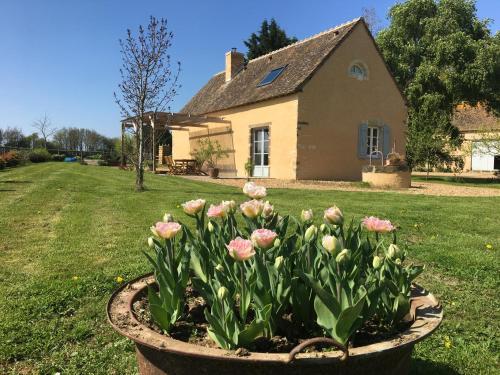 Gîte de La Hertaudière : Guest accommodation near Coulombiers