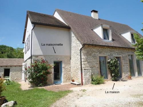 Le Haut de Collonge : Guest accommodation near Bissy-sous-Uxelles