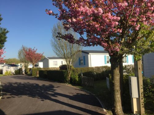Caravaning Les Cerisiers : Guest accommodation near Airon-Saint-Vaast