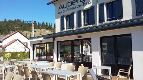 Auberge du château de Joux : Hotel near Verrières-de-Joux