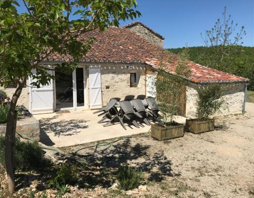 Le Domaine des Ramonets : Guest accommodation near Esclauzels