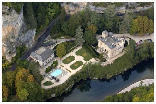Chateau De La Caze : Hotel near Sainte-Enimie