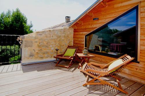 Les Aires Passagères : Guest accommodation near Saint-Bonnet-du-Gard