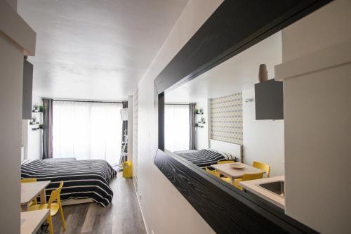 Studio Couleur Soleil : Apartment near Roquebrune-Cap-Martin