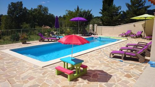 Résidence Au Brin d'Olivier : Guest accommodation near Laval-Saint-Roman