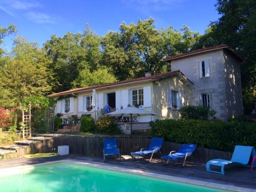 La Maison sur la Colline : Bed and Breakfast near Saint-Quentin-de-Chalais