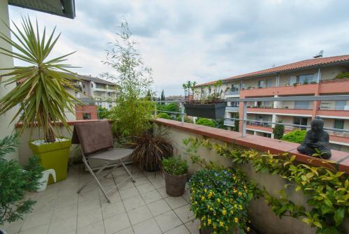 Appartement Flambere : Apartment near Cornebarrieu