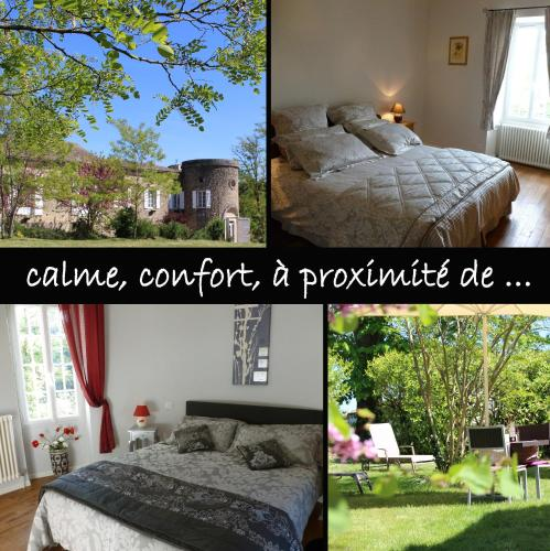 Domaine Haras de la Tour : Bed and Breakfast near Landerrouet-sur-Ségur