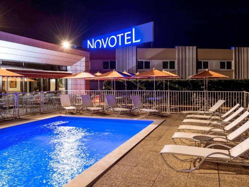 Novotel Macon Nord : Hotel near Burgy