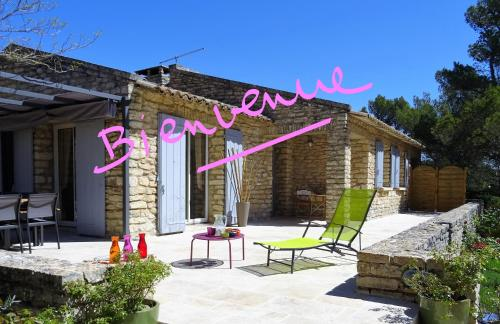 Les Jardins d'Eleusis : Bed and Breakfast near Murs