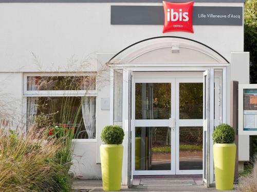 ibis Lille Villeneuve-d'Ascq Grand Stade : Hotel near Anstaing