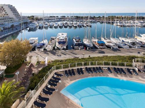 Mercure Port La Grande Motte : Hotel near La Grande-Motte