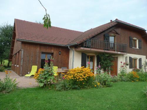 Au doux Doubs : Guest accommodation near Voires